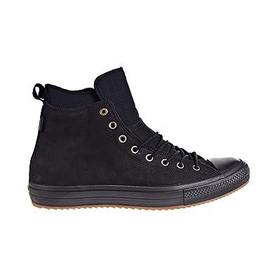 74654e33c5e64 Converse Womens Chuck Taylor All Star Waterproof Boot Hi Black Nubuck Boots  36.5 EU