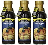 Walden Farms Blueberry Syrup 12oz (Pack of Three)