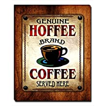 ZuWEE Hoffee's Coffee Family Name Gallery Wrapped Canvas Print