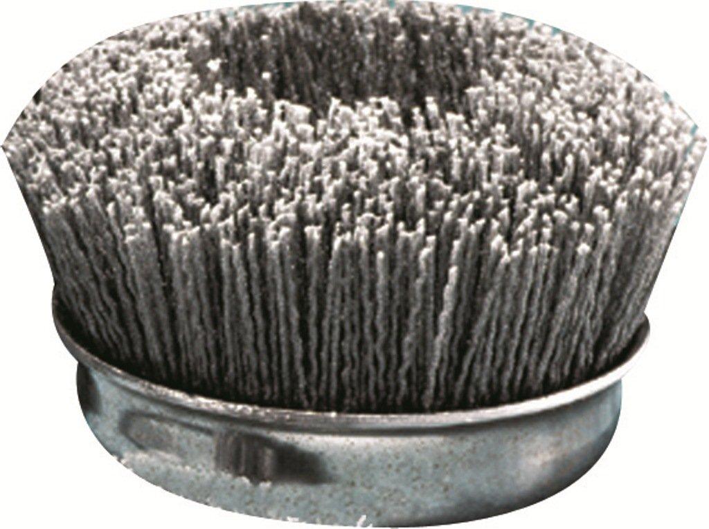 12-Pack United Abrasives-SAIT 04380 1-Inch Nylon End Brush with 120X