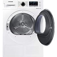Samsung dv8tm5010qw/EG autonome Belastung Bevor 8kg A + + weiß Trockner Trockner (autonome, bevor Belastung, Wärmepumpe, weiß, Knöpfe, drehbar, rechts)