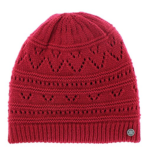 Roxy Women's Girl Challenge Beanies Hats,One Size,Persian Red