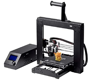 Monoprice Maker Select 3D Printer v2 With Large Heated (200 x 200 x180 mm) Build Plate + Free Sample PLA Filament And MicroSD Card Preloaded With ...