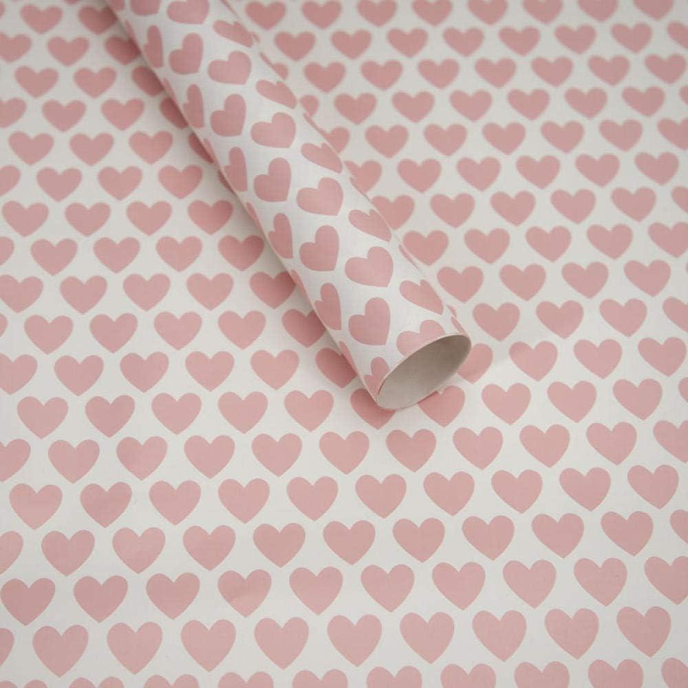 XZHKSP Papel de regalo Día de San Valentín Día de la Madre amor para enviar hombres y mujeres amigos mamá regalo caja de regalo papel de regalo materiales de decoración-E
