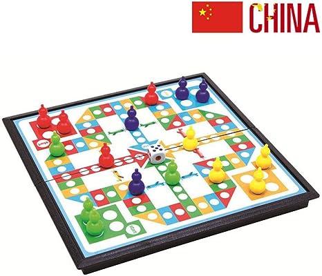 Damas Magnéticas Juego De Mesa Piezas De Ajedrez 20 X 20 Cm para Niños Y Adultos Juegos De Viaje Familiar B: Amazon.es: Hogar