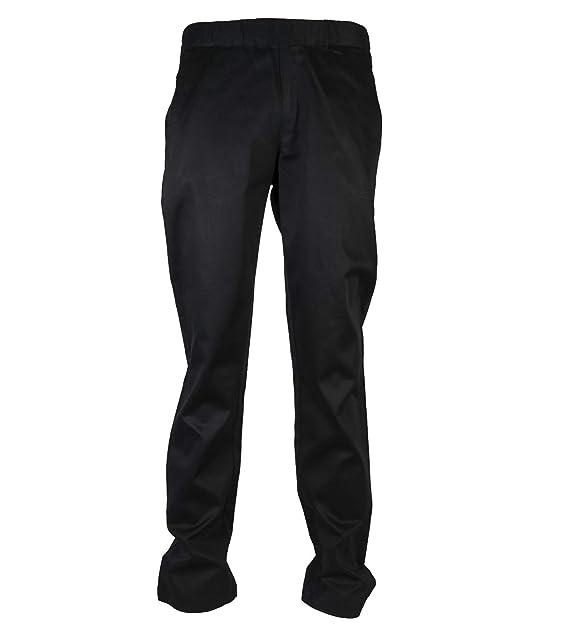 Varianti: nero Pantaloni cuoco Josh in cotone 100% Girovita elasticizzato Taglia: XL Peso al mq 190 gr