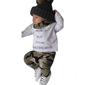Amazon.com: Hot Sale! Kavitoz Newborn Infant Kids Baby Boys Outfits ...