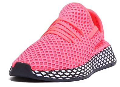 check out ca5cd aeeed adidas Originals Deerupt Run Trainers in Coral (UK 3, Coral)