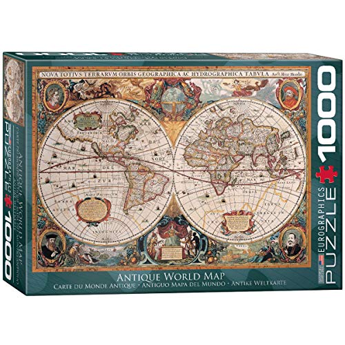 - EuroGraphics Antique World Map Puzzle (1000-Piece)