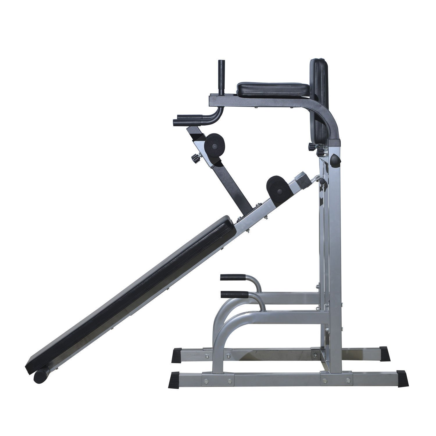 Home Gym Workout Strength Fitness Training Power Tower Dip Station Weight Bench by Happybeamy (Image #9)
