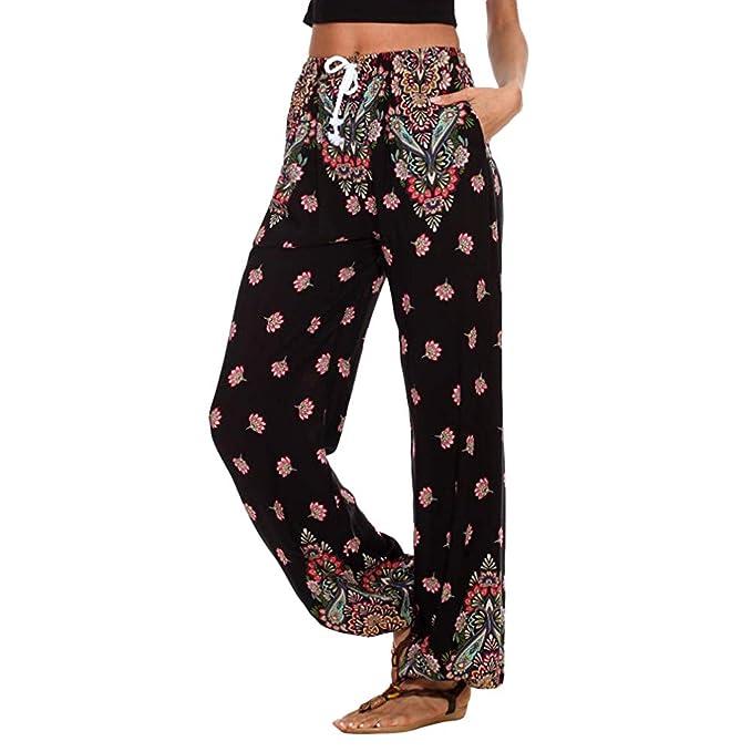 Amazon.com: Pantalones de yoga para mujer, estilo casual ...