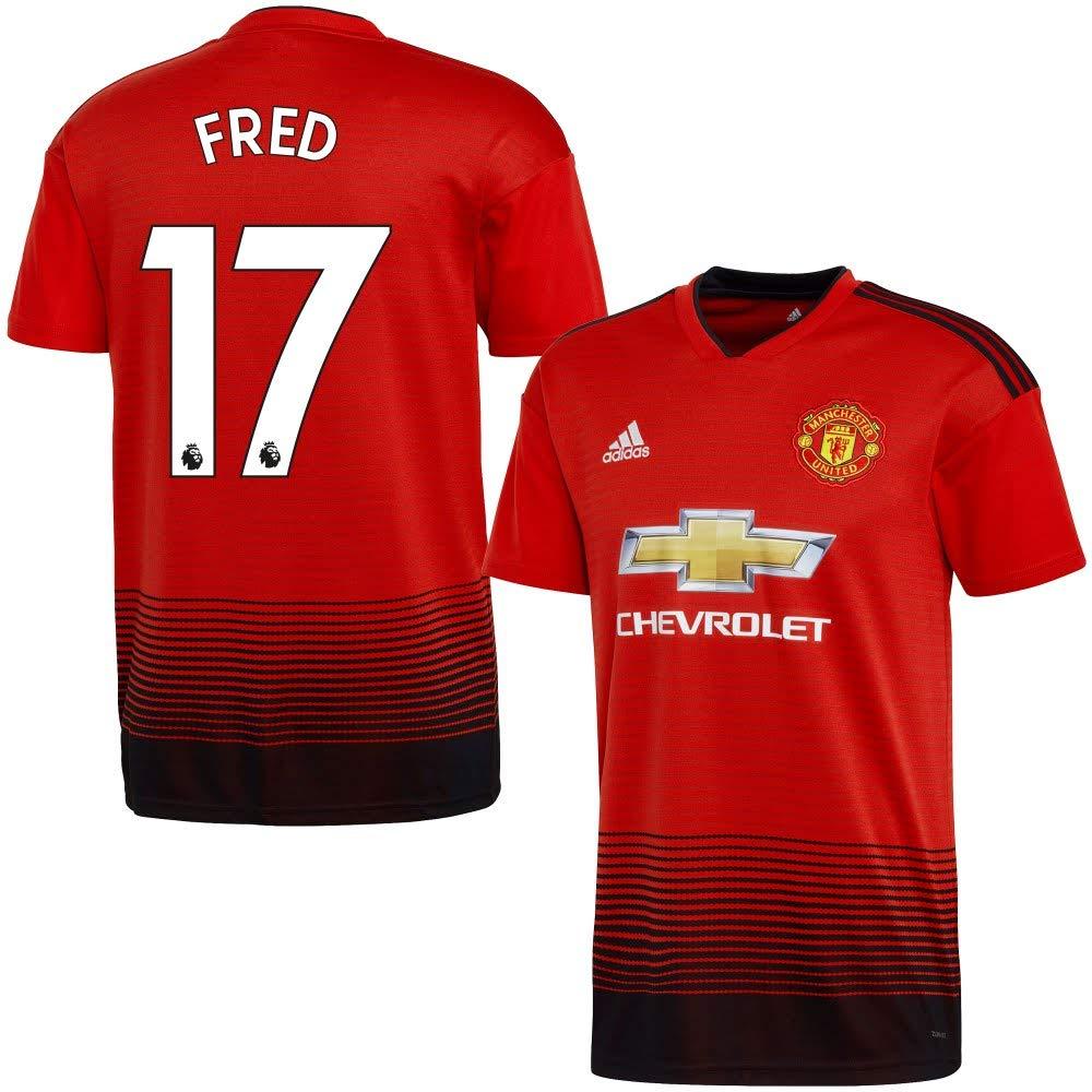 Man Utd Home Trikot 2018 2019 + FROT 17