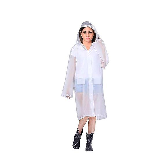 abd265bef Krystle Transparent 100% Water Proof Rain Coat Rain coat with Hood ...