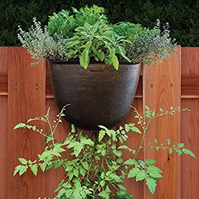 Akro-Mils Vertical Hanging Garden Planter - Bronze - Set of 5