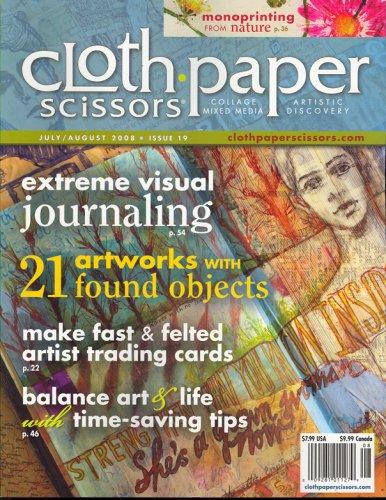 Cloth, Paper, Scissors, July/August 2008 - Magazine Scissors