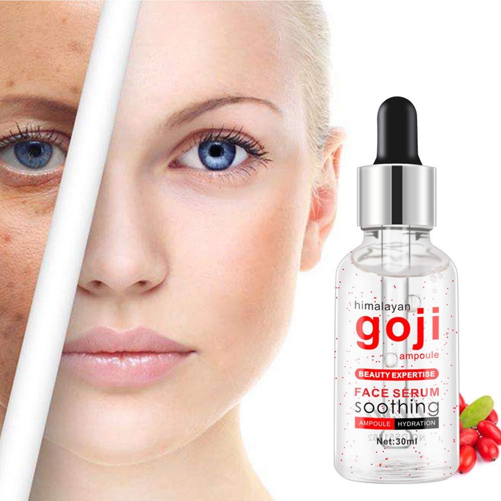 Facial Serum, MatureGirl Goji Berry Serum For Face Topical Facial Serum With Hyaluronic Acid Vitamin (Multicolor)