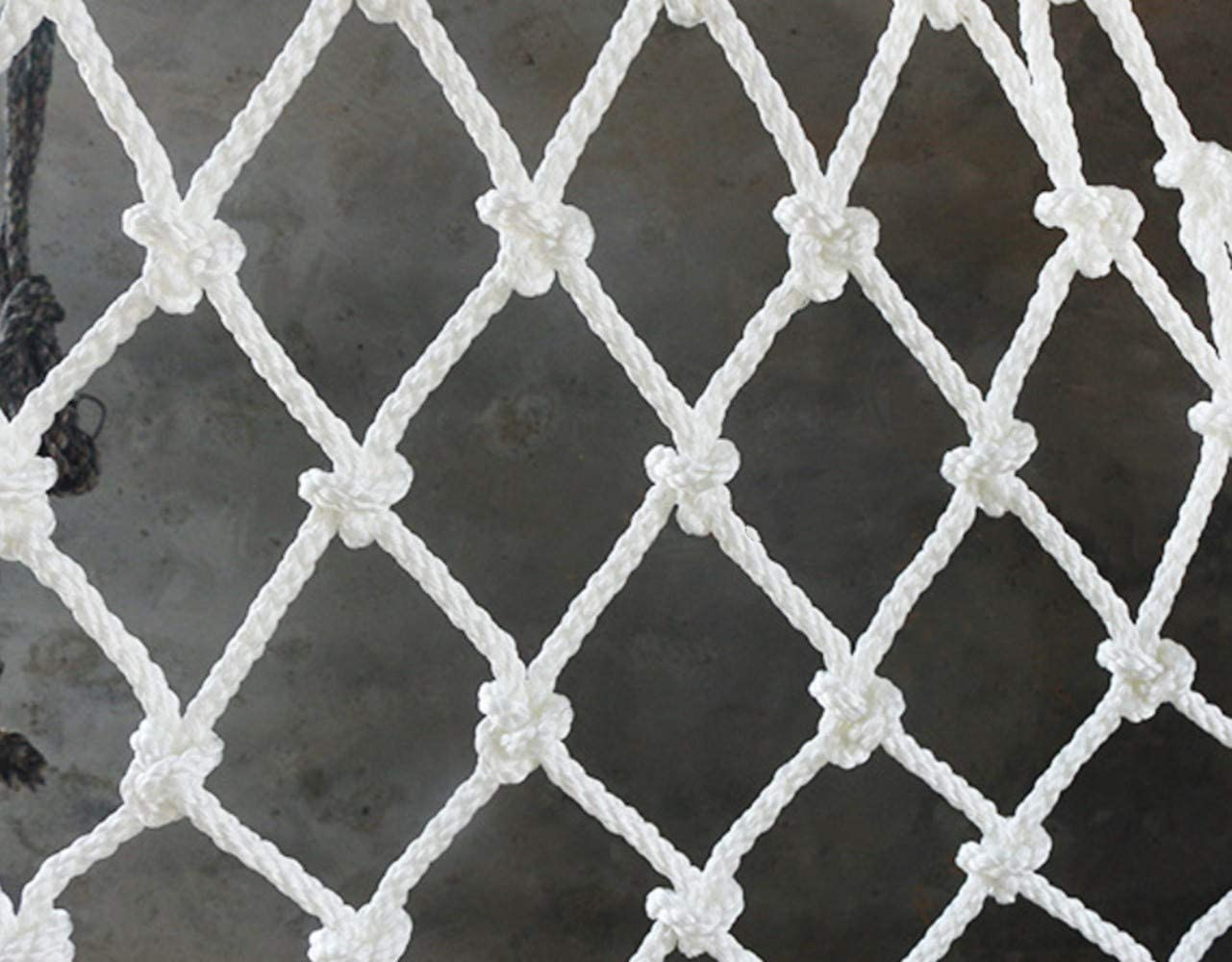 """Mitef Building Anti-Fall Safety Protective Net,Garden Fence Decoration Ball Mesh Hanging Net, 5cm/2"""""""