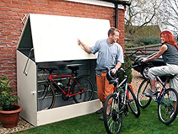 Carrello Da Giardino Usato : Box portabici da giardino garanzia anni amazon sport e