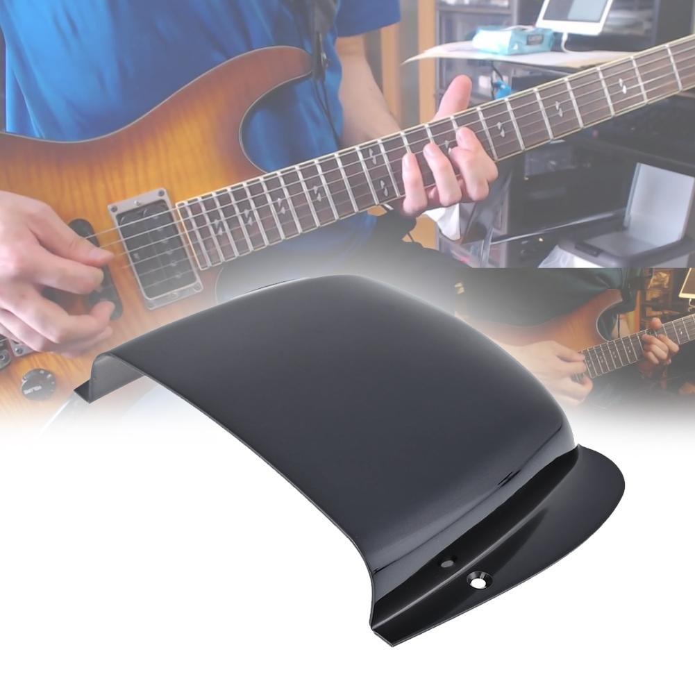 Broadroot carcasa Metal para Guitarra Eléctrica Bass Puente silla de montar accesorios, dorado: Amazon.es: Instrumentos musicales
