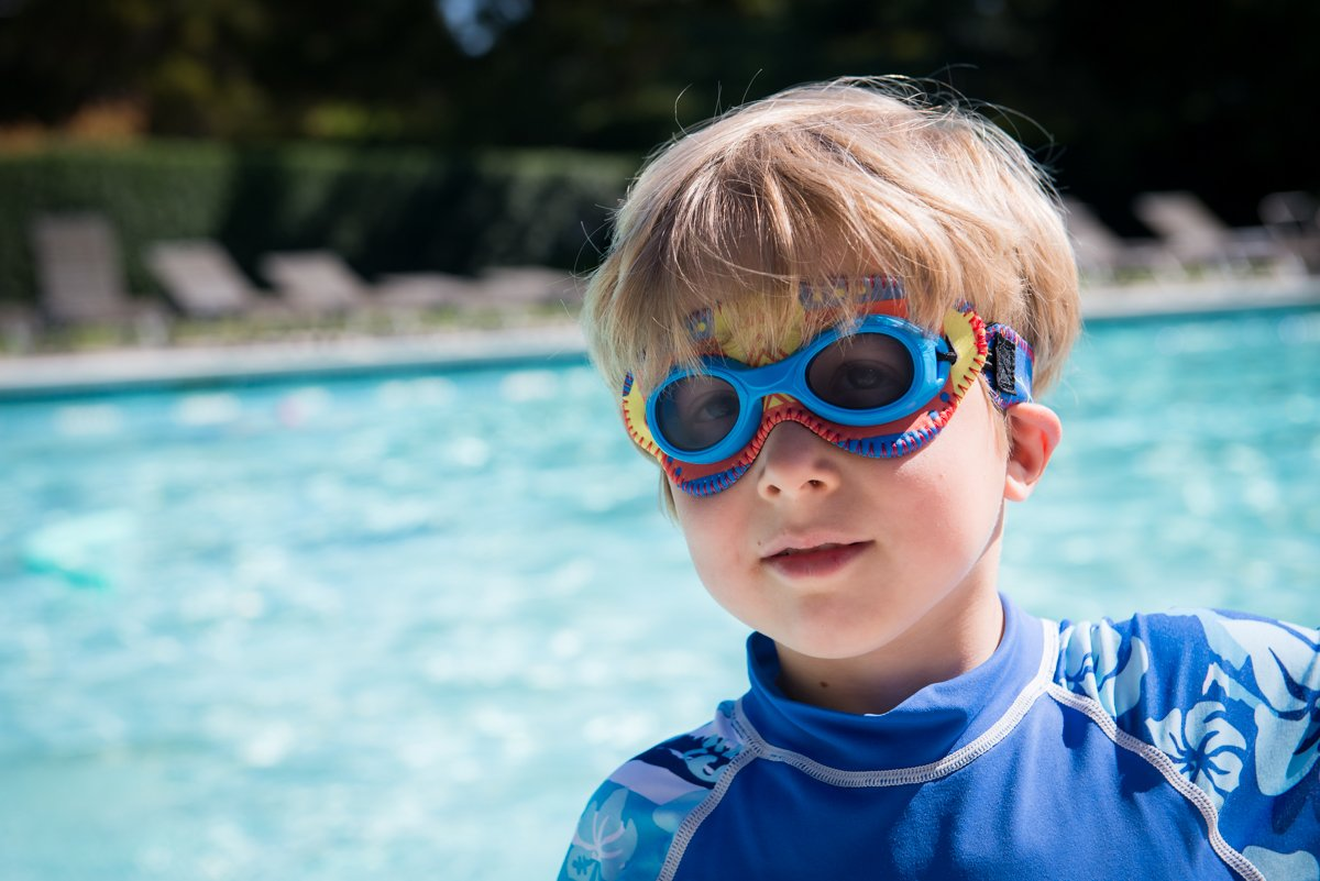 Giggly Goggles Kids Small Swim Goggles DaphDaph SF
