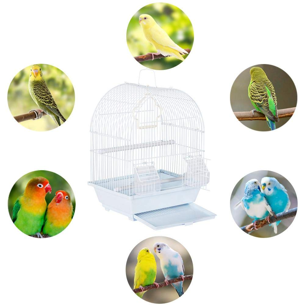 Yaheetech 15.4/'/' Small Bird Cage Heritage Cages Budgie Finch Budgies Canary Home Pet