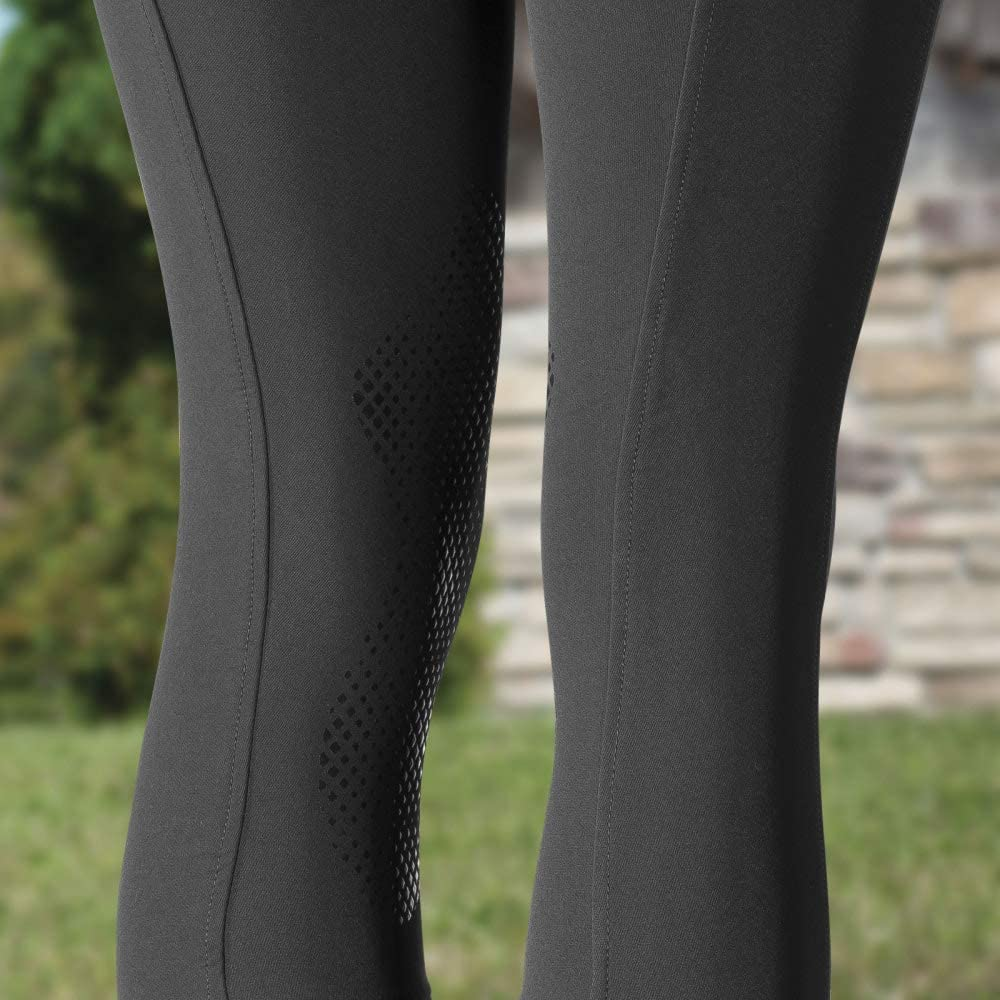 HORZE Pantalones de Montar con Refuerzo de Rodilla en Silicona para Mujer Grand Prix