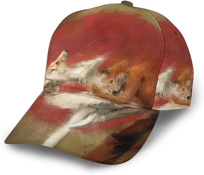 Fox - Gorra de béisbol Ajustable para Mujer y Hombre, para Correr ...