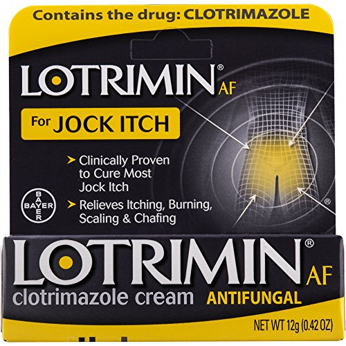 Lotrimin AF Jock Itch Antifungal Cream 0.42 oz ()