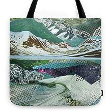 Society6 Experiment Am Berg 14 Tote Bag