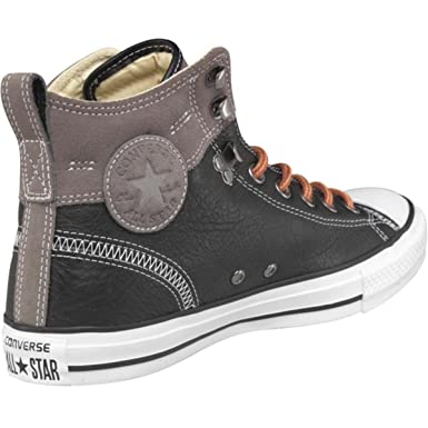 52aa97a1e147ad Converse Mens CT All Star Leather Hiker 2 Hi-top Trainers - Size UK ...