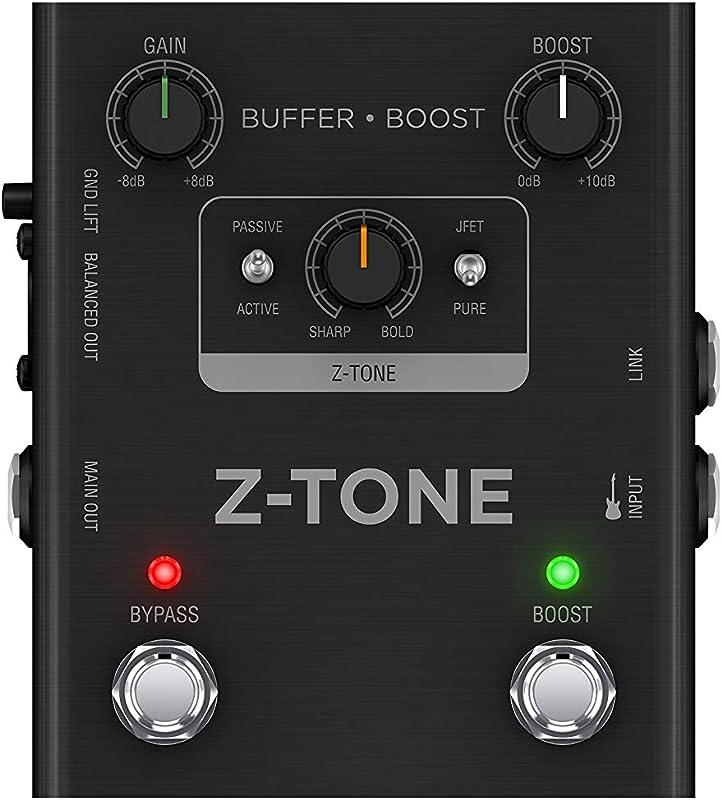 Z-TONE Buffer Boost:フロントパネル