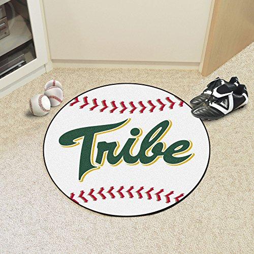 FANMATS NCAA College of William & Mary Tribe Nylon Face Baseball Rug