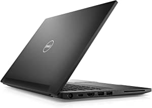 "Dell Latitude 7480 Intel Core i7-6600U X2 2.6GHz 8GB 256GB SSD 14"" Win10, Black (Certified Refurbished)"