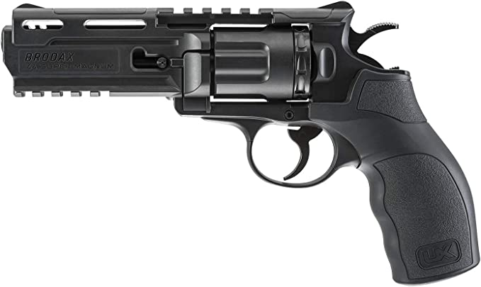 Best revolvers : UmarexBrodax .177 Caliber Steel BB Airgun Pistol