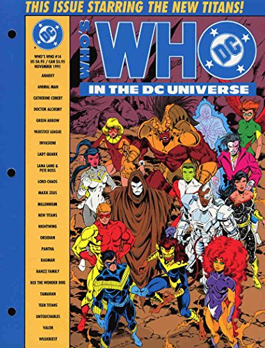 Who's Who in the DC Universe #14 VF/NM ; DC comic book