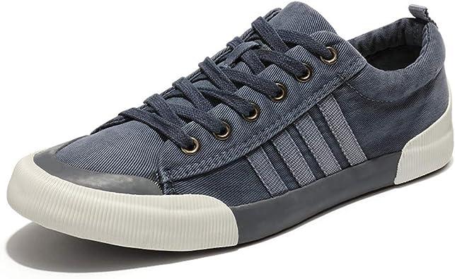 Amazon.com | Men's Canvas Shoes-RQWEIN