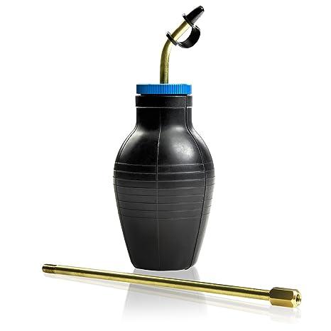 Ivation insectos Buster polvo plumero limpiador de   bombilla, insecticida aplicador, dispensador para Diatomeas