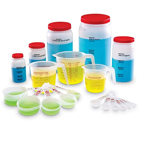 Amazon.com: Classroom Liquid Measuring Set: Office Products