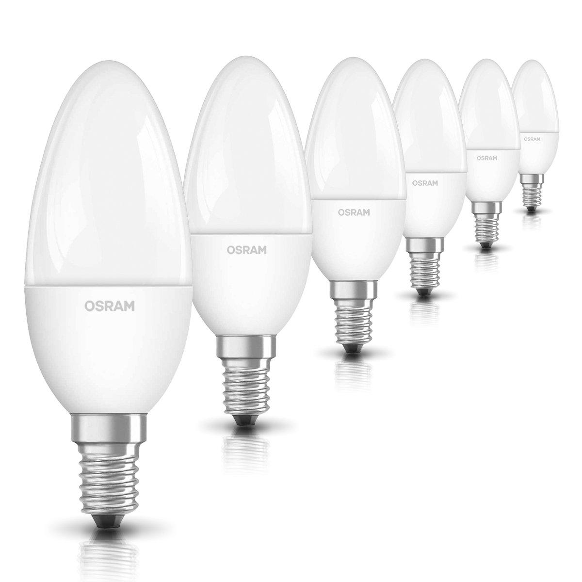 Osram LED SuperStar Classic B Lampe, in Kerzenform mit E14-Sockel ...