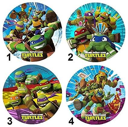 Disco de azúcar Tortugas Ninja Mod Déco Pastel Niño 21 cm ...