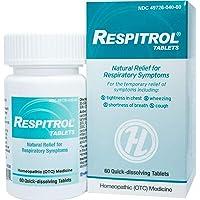 HelloLife Respitrol Tablets - Respiratory Symptom Relief - for Safe, Temporary Relief...