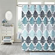 Shower Curtain - Fabric Shower Curtains Set Machine Washable Waterproof , Original Pattern, with 12 Free Hooks