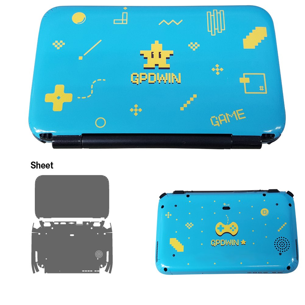 Skin Decal Stickers For GPD Win Console Outside Tuning Mapping POP SKIN Game Edition