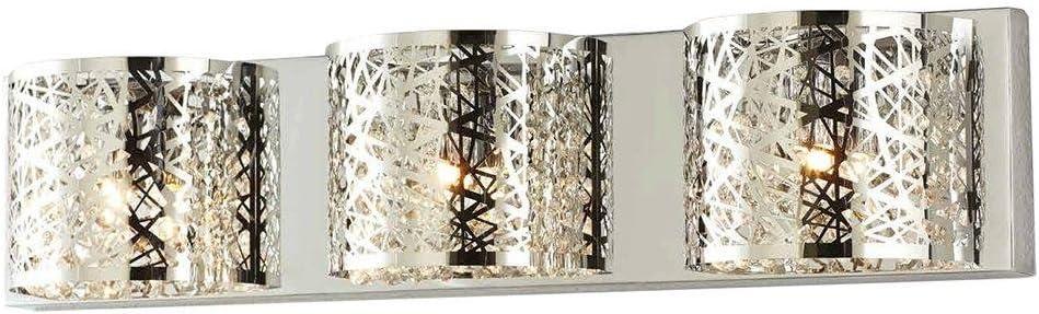 Thomas Lighting SL748578 Prestige 5-Light Lamp in Brushed Nickel Vanity Wall Sconce, Five