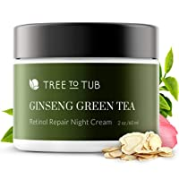 Retinol Sensitive Skin Night Cream for Face by Tree To Tub - pH 5.5 Gentle Anti...