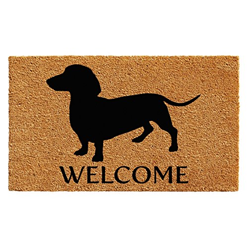 Calloway Mills 103031729 Dachshund Doormat, 17