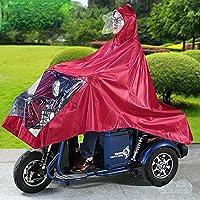 Waterdichte Grote Regen Cape Jas Scootmobiel Motorfiets Regenjas Regenhoes Poncho Regenkleding Volledige Bescherming Met…