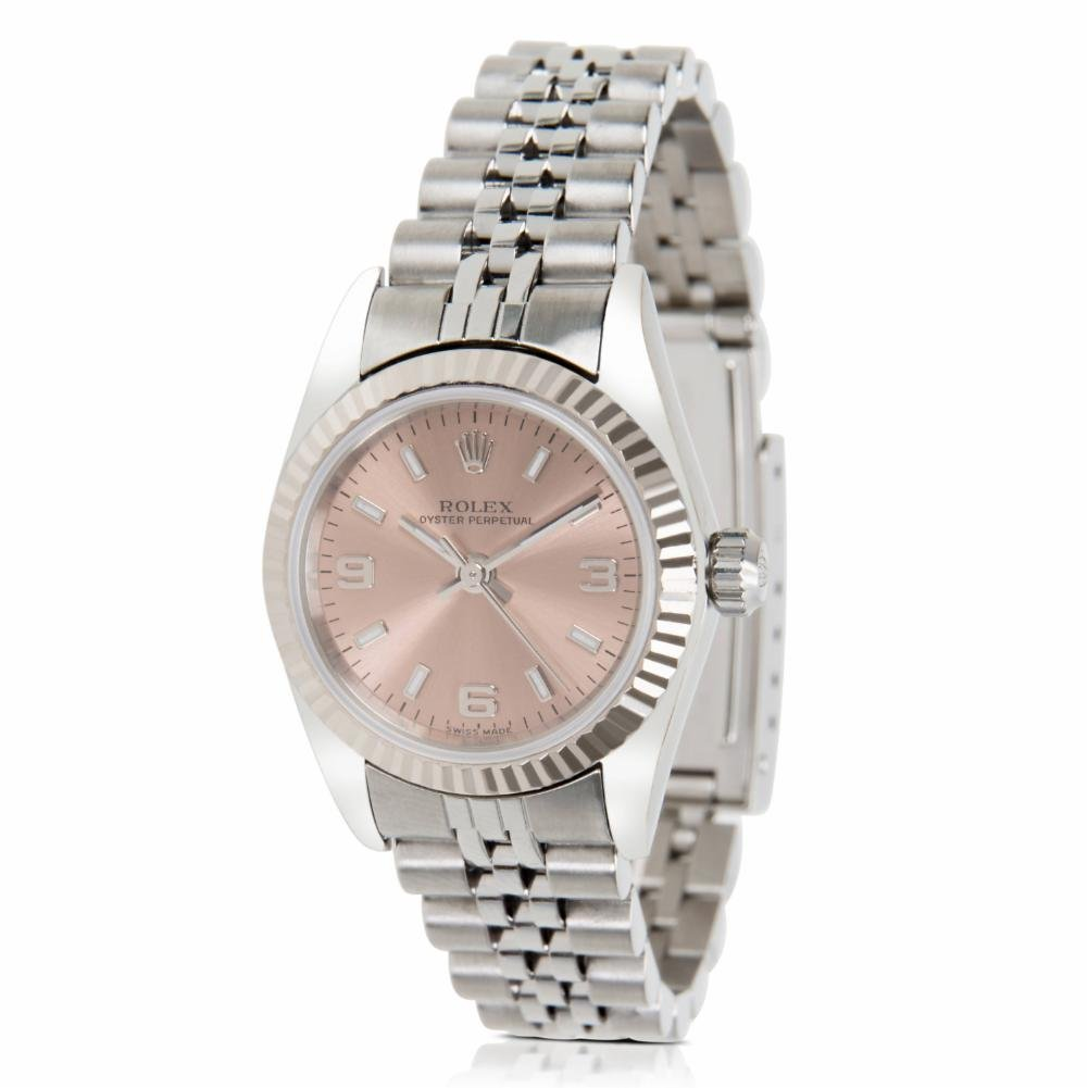 Rolex Oyster Perpetual automatic-self-wind womens Watch 76094 (Certified Pre-owned)