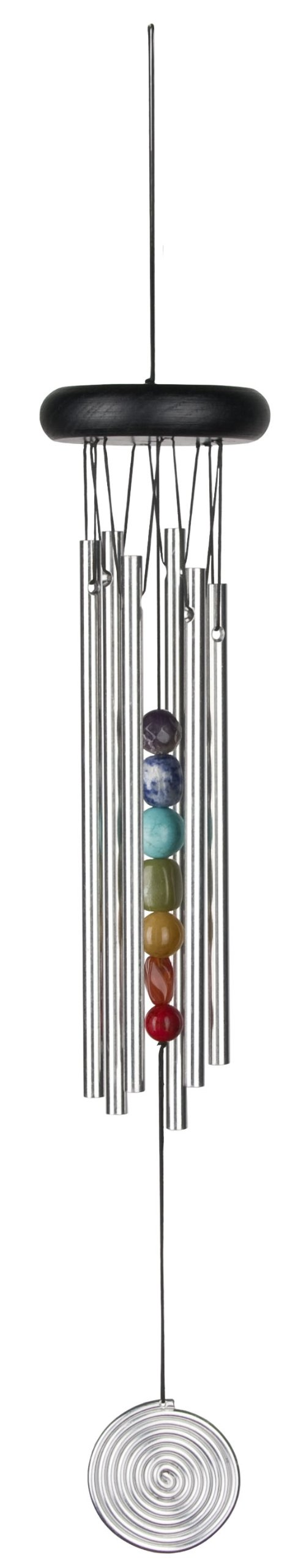 Woodstock Medium Chakra Chime, Seven Stones- Eastern Energies Collection