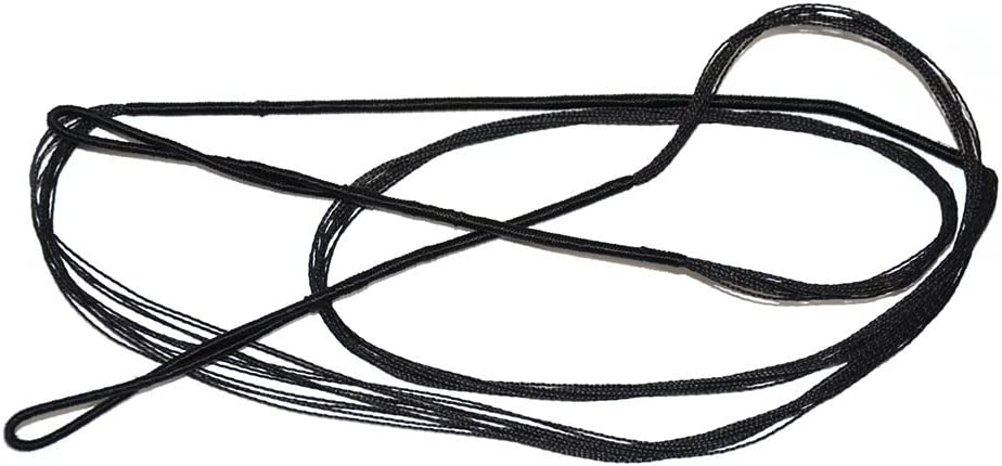 "ISPORT 53"" Archery Braided Replacement Recurve Bowstring - Black Color"